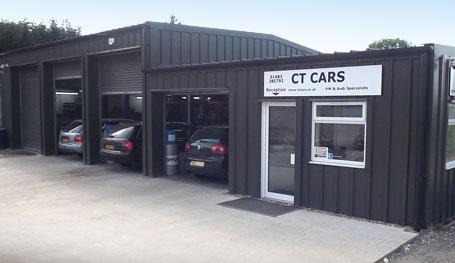 CT Cars forecourt